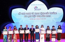 Winners of Vietnam Tourism Awards 2019 honoured