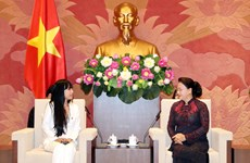 NA leader welcomes head of France-Vietnam Friendship Parliamentary Groups