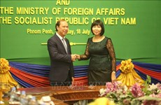 Vietnam, Cambodia hold sixth political consultation