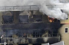 PM sends condolences over anime studio fire in Japan