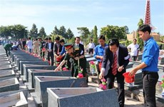 Long An lays to rest martyrs from Cambodia