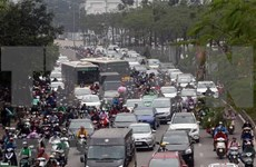 Fewer road crashes but more traffic jams in H1