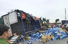 Accidents on National Highways kill eight, injure nine
