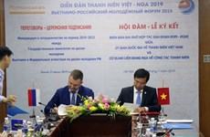 Vietnam, Russia beef up cooperation in youth affairs
