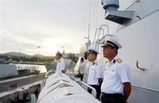 Vietnamese navy frigate arrives in Vladivostok, beginning Russia visit