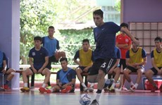 Thai Son Nam ready to compete in AFC Club Futsal Champs