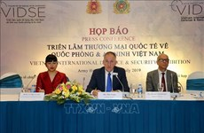 Hanoi to host Vietnam International Defence & Security Exhibition