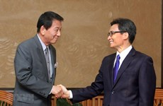 Deputy PM lauds efforts by Vietnam – Japan Special Ambassador