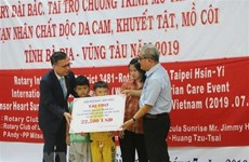 Foreign aid supports heart surgeries for AO/dioxin victims