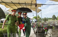 Reburial service of martyrs in Kien Giang