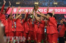 Vietnamese men's football team retain first position in region