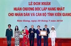 PM lauds Kien Giang for impressive progress