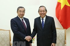 Deputy PM hails Japan's assistance in building e-government