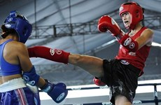 Vietnamese artists win two golds at World Muay Thai Championships