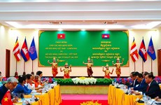 Vietnam, Cambodia friendship associations issue joint statement