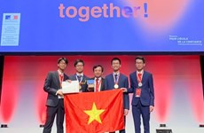 Vietnam in fifth place at 51st Int'l Chemistry Olympiad