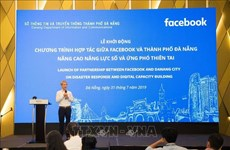 Da Nang, Facebook join hands in disaster response
