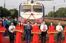 North-South express freight train service launched