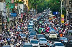 Hanoi develops digital traffic map to ease congestion