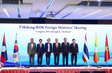 Mekong, RoK foreign ministers gather at Bangkok meeting