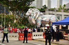 Singapore tightens security ahead of National Day