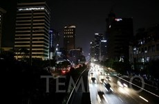 Indonesia recovers power supply in Jakarta, Java after major blackout