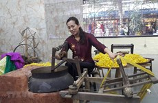 Festival honours Vietnam's traditional silk, brocade weaving