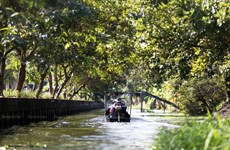 Thailand develops water routes to tackle congestion in Bangkok