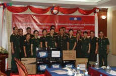 Military libraries of Vietnam, Laos foster collaboration