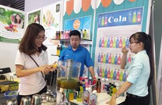 Int'l food, beverage expos open in HCM City