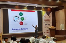 Building positive business values to integrate globally