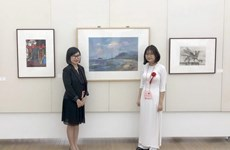 Vietnamese student wins prize at Japan's high school arts festival