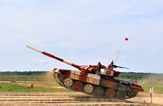 Vietnam shows excellent performance at Army Games 2019
