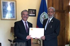 Governor General of Belize impressed by Vietnam's development