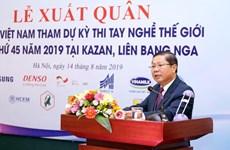 Vietnam sends 19 contestants to World Skills Competition