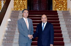 PM receives Governor of Japan's Nagano prefecture