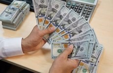 Reference exchange rate up 10 VND on August 14