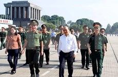 PM inspects President Ho Chi Minh Mausoleum's maintenance