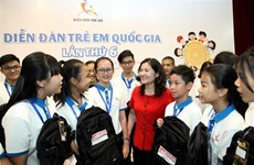 2019 national children's forum opens in Hanoi