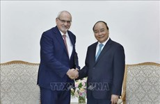 PM hosts CEO of International Finance Corporation