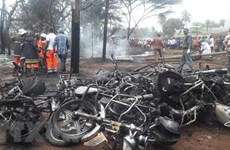 Sympathy to Tanzania over fuel tanker explosion