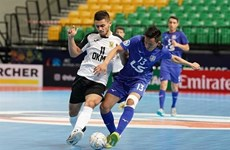 Vietnam's Thai Son Nam win bronze medal at AFC futsal champs