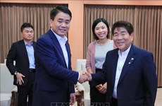 Hanoi leader expresses support for Japanese firms