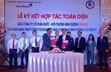 Biwase, Vietinbank form comprehensive partnership for water supply