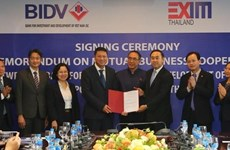 BIDV, EXIM Thailand sign cooperation agreement