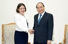 PM Nguyen Xuan Phuc welcomes new Australian ambassador