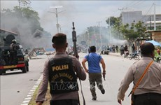 Indonesia blocks Internet access amid violent protests in Papua