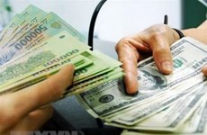 Reference exchange rate down 4 VND on August 22