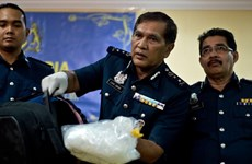 Drugs worth 161 million USD seized in Malaysia's biggest haul