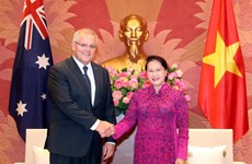 NA Chairwoman meets Australian Prime Minister